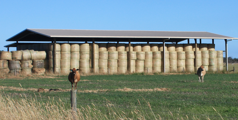 Tips For Reducing Round Bale Losses North Carolina Cooperative Extension
