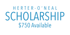 Cover photo for Herter- O'Neal Scholarship