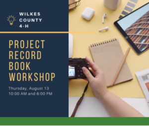 Record Book Workshop