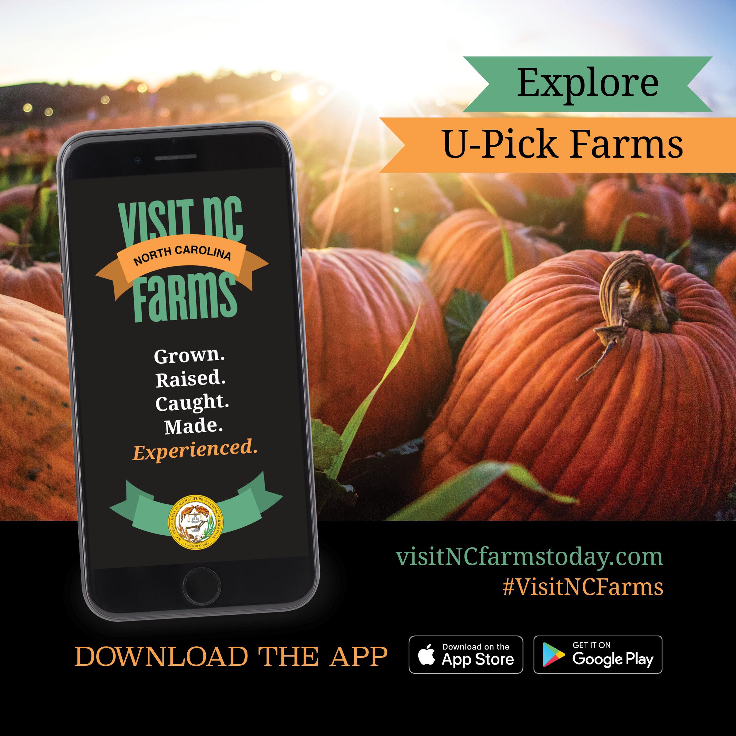 Visit NC Farms flyer
